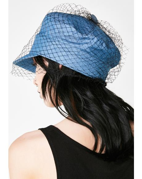 Royal Under The Veil Fishnet Hat
