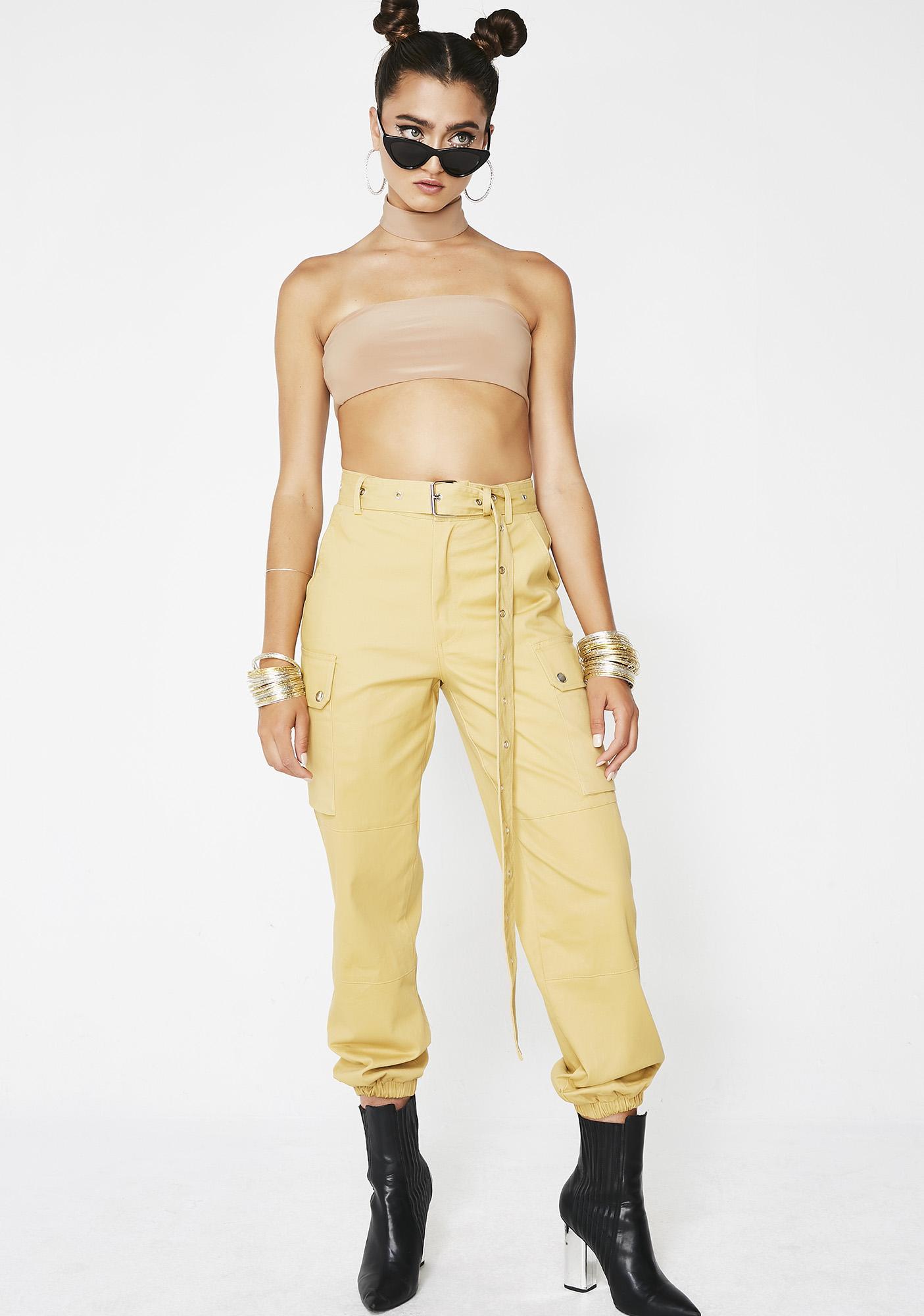 Sunny Shroom Raider Cargo Trousers