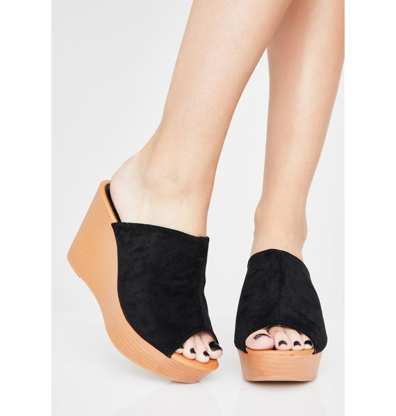 Snob Supreme Wedge Heels
