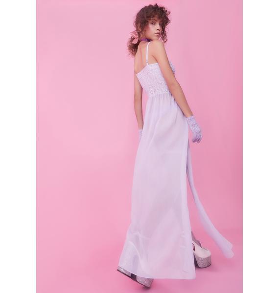Sugar Thrillz Palace Of Pleasure Bustier Maxi Dress