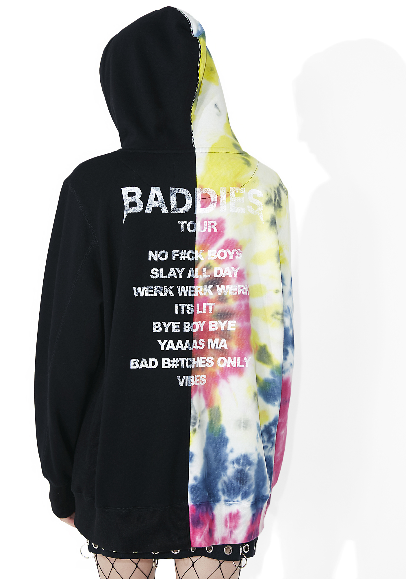 Civil Clothing Baddies Tour Tie-Dye Pullover