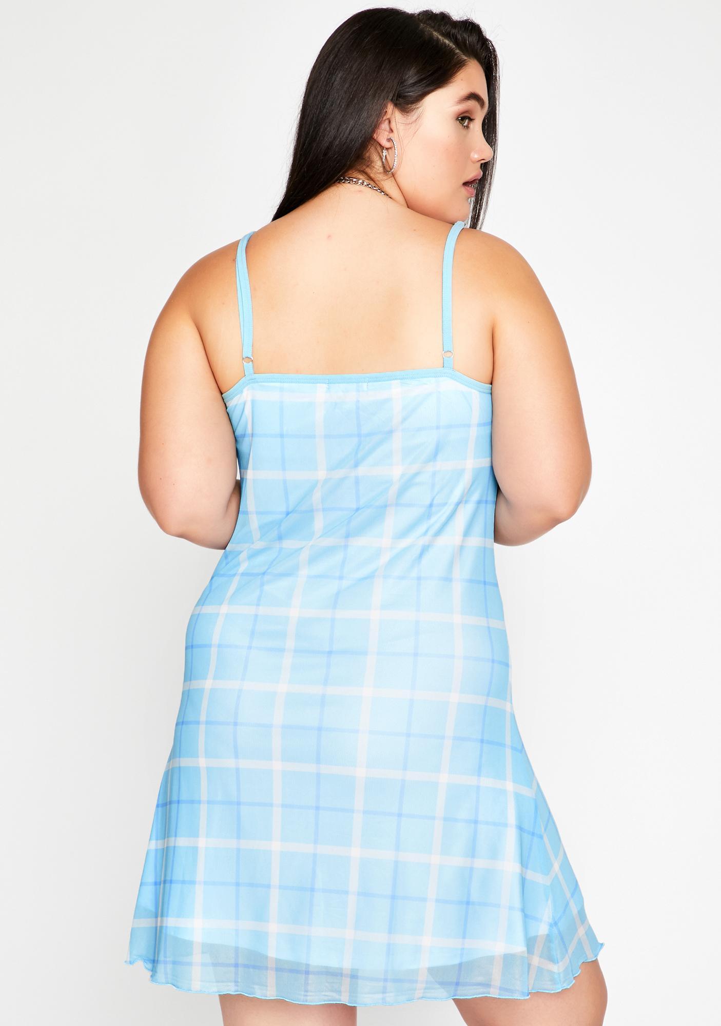 Sugar Thrillz Lil Miss Popular Plaid Dress