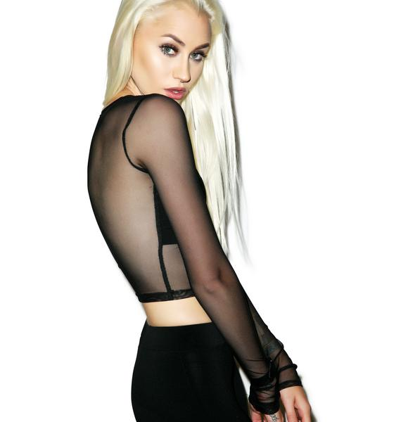 Black Wednesday Exposure Top