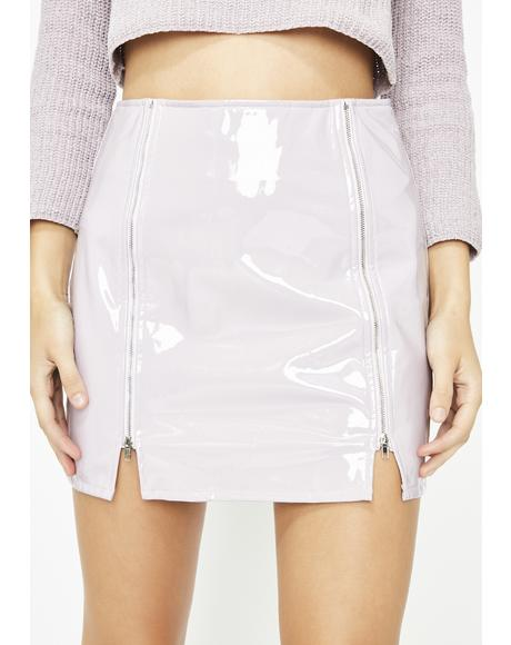Drank Make Ya Dizzy Vinyl Skirt