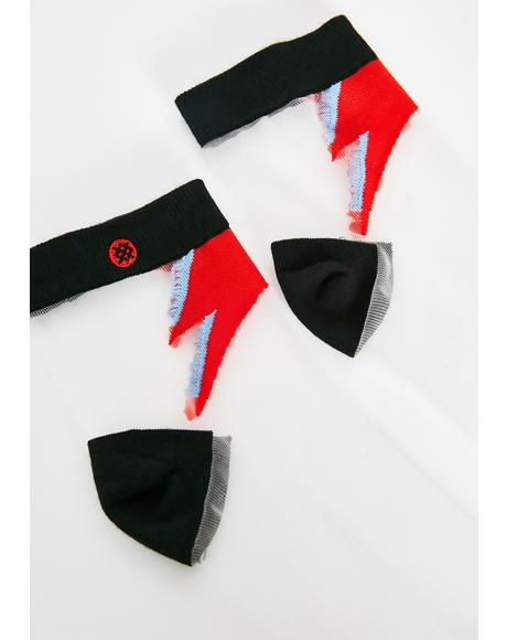 Rebel Rebel Crew Socks