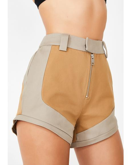 Mocha Frances Cargo Pants