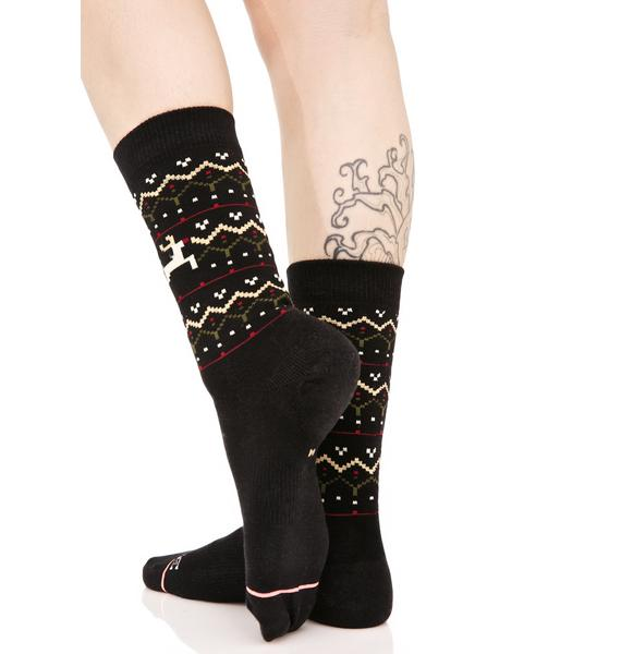 Stance Mistle Toes Tomboy Socks