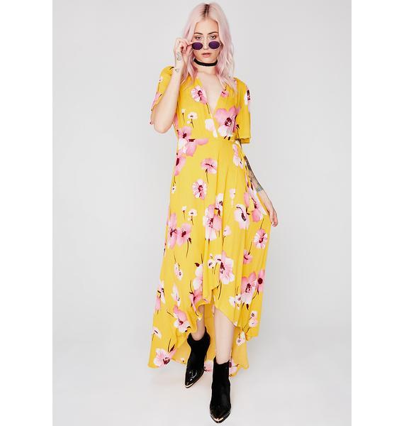 Flower Season Maxi Dress