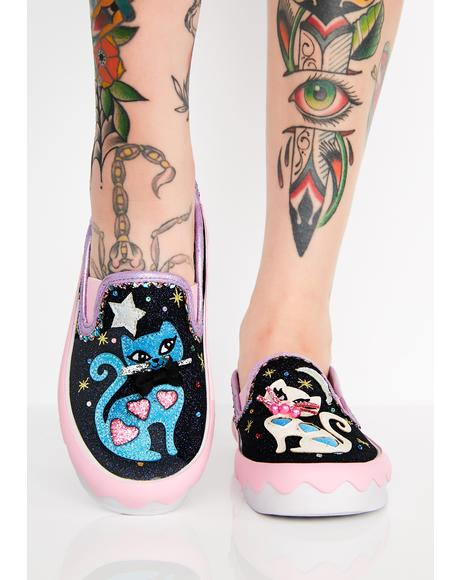 Pretty Kitty Slip On Sneakers