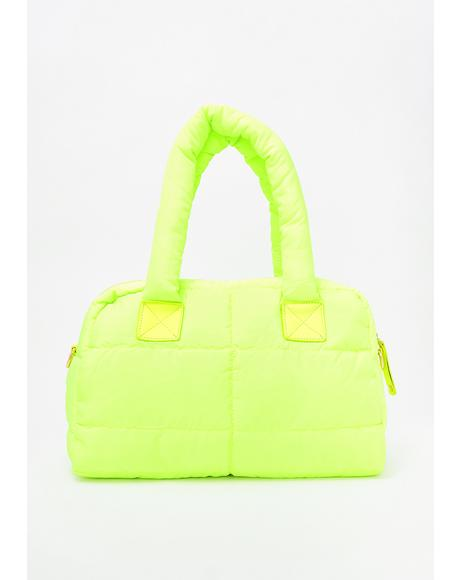 How Bizarre Puffer Purse