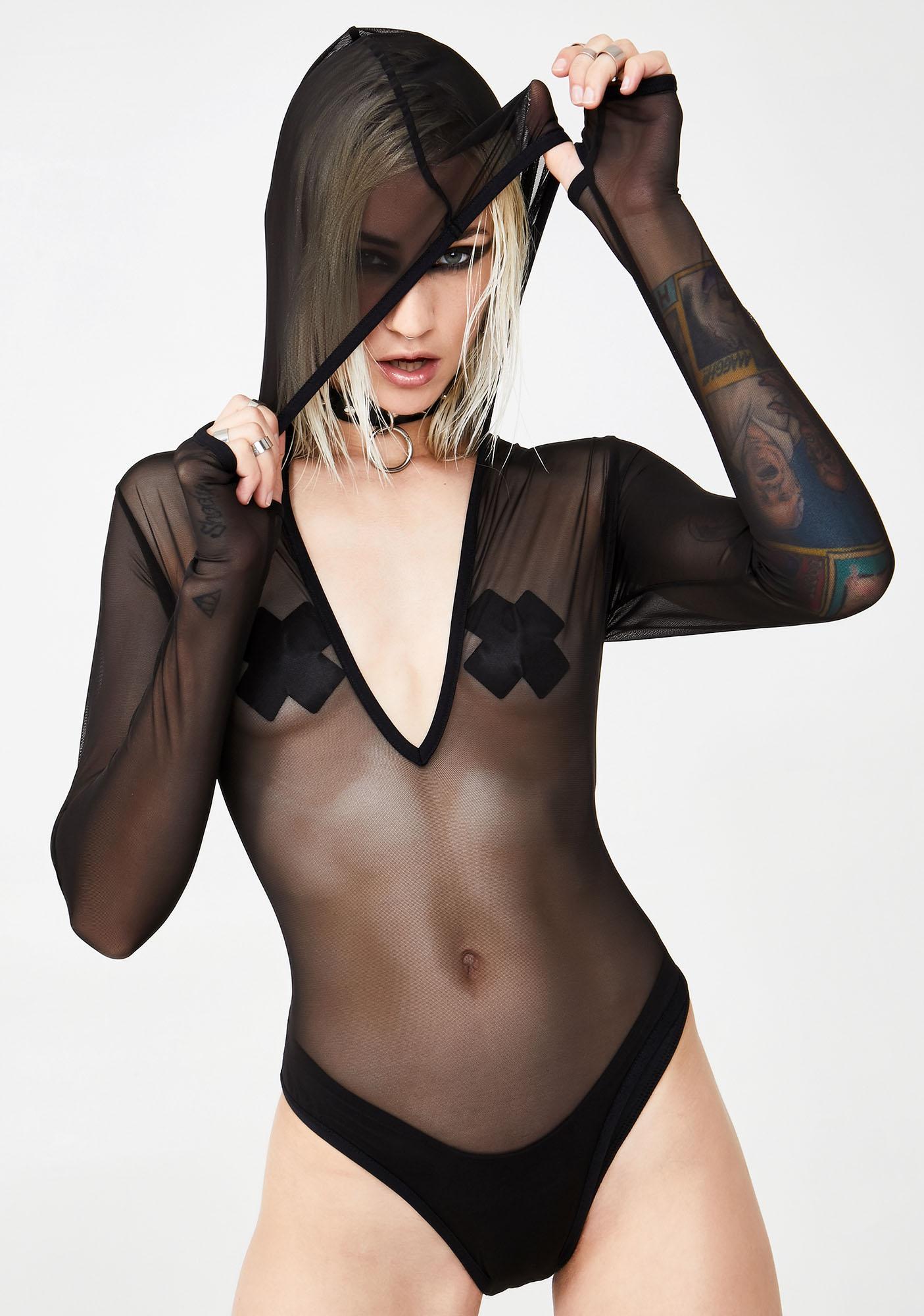 Club Exx Unknown Limits Mesh Bodysuit