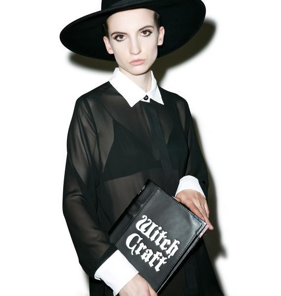 Disturbia Witch Craft Clutch Bag
