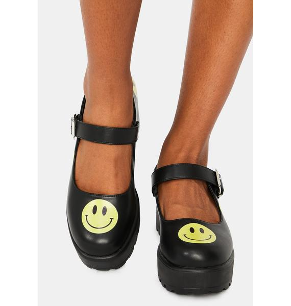 Koi Footwear Be Happy And Smile Mary Janes