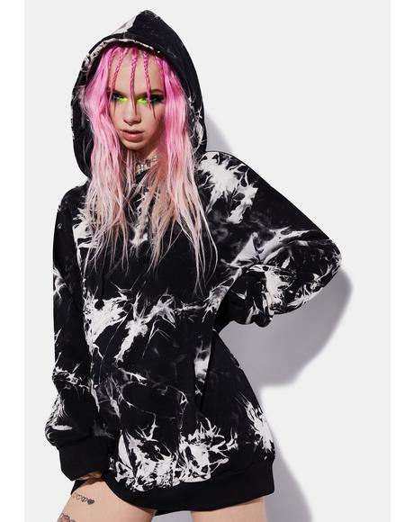 Wicked Dark Dreams Tie Dye Hoodie