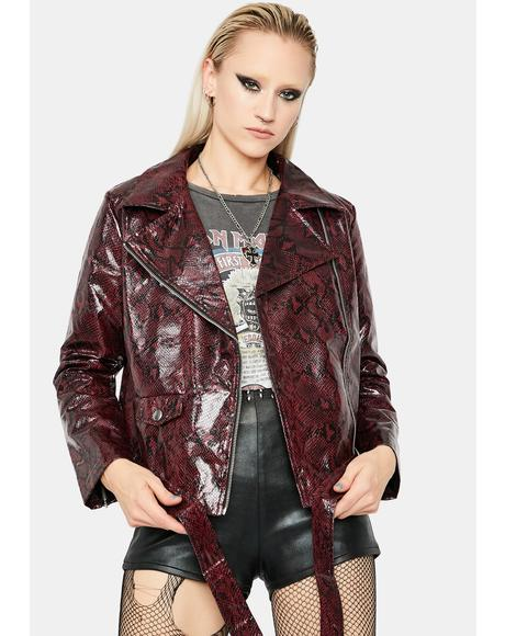 You Know Better Moto Jacket