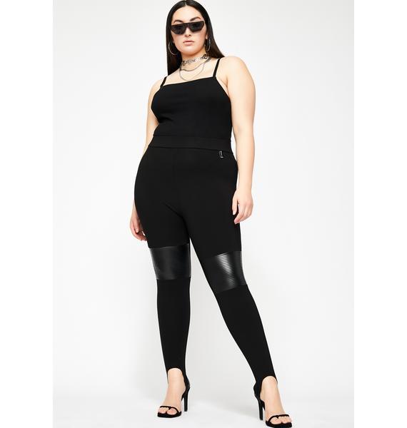 Poster Grl Night Rich Supermodel Ribbed Bodysuit
