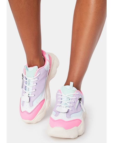 Sunset Own The Court Sneakers