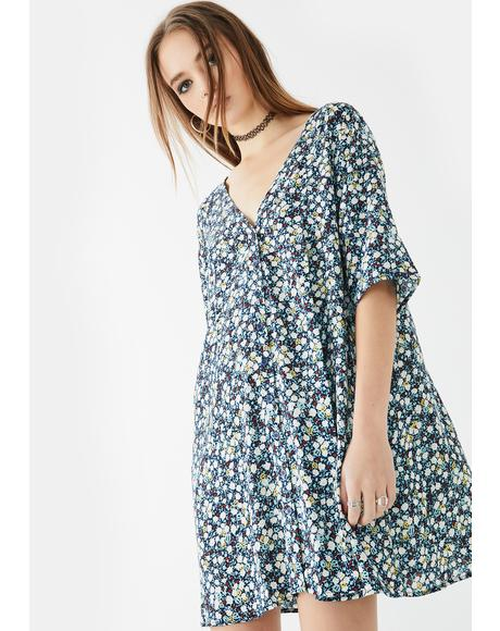 Floral Field Rosella Shift Dress
