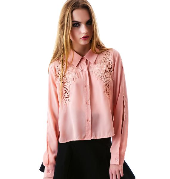 Thea Button Up