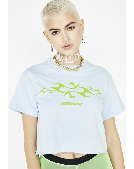 Whatever Cropped Tee