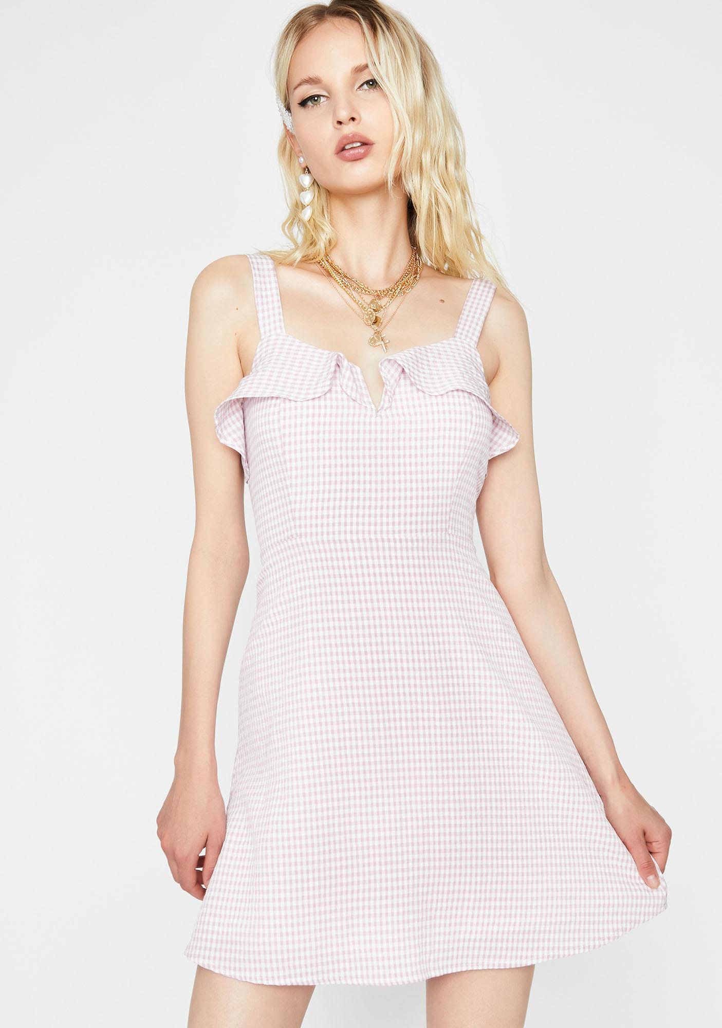 Call Me Cute Gingham Dress