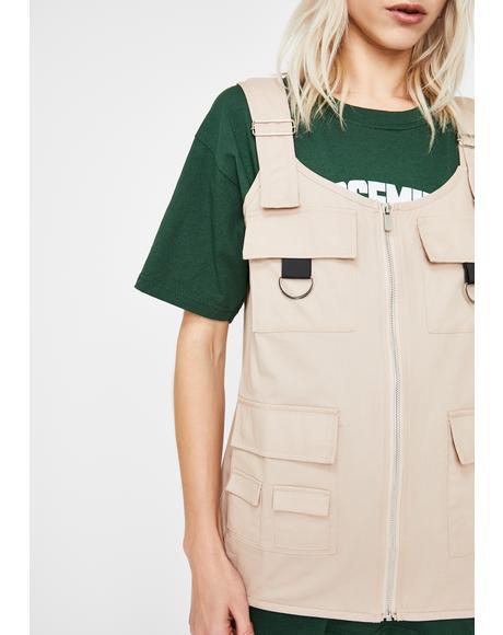 Utility Style Gilet Vest