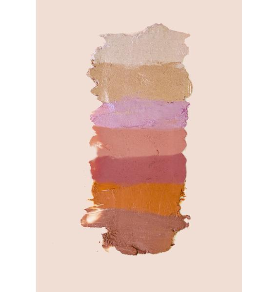 Glam & Grace Rosey Posey Matte Blusher Multistick
