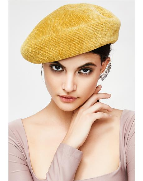 Golden Major Attitude Beret