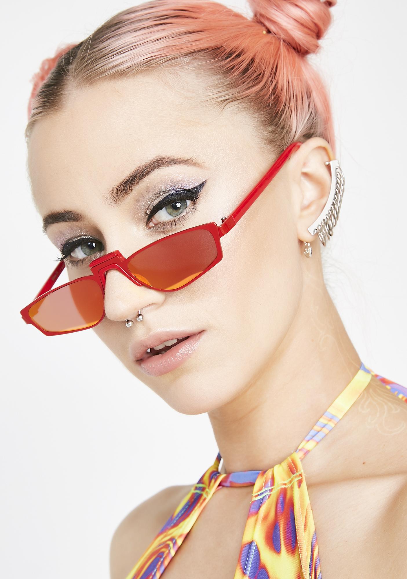 Big Redz Sporty Sunglasses