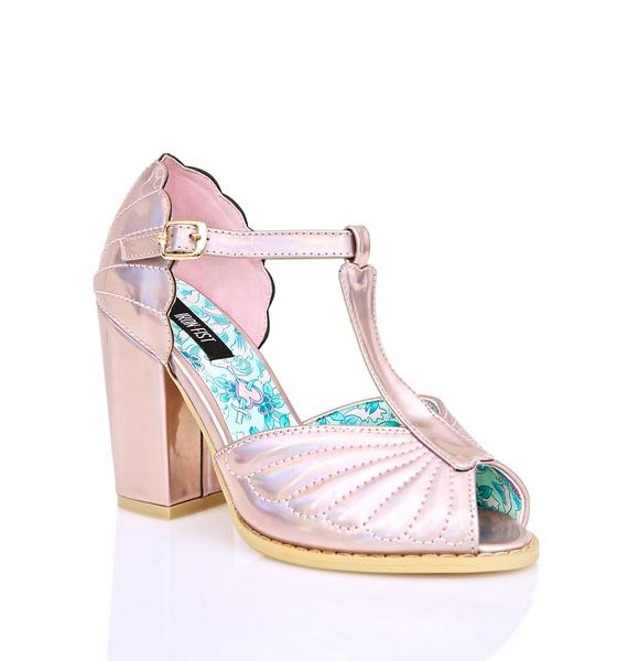Iron Fist Mother Of Pearl Heels