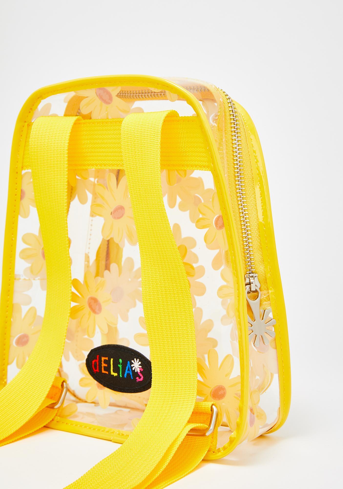 dELiA*s by Dolls Kill Daisy Pickin' Mini Backpack