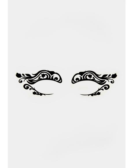 Bewitched Bliss Temporary Eye Tattoos
