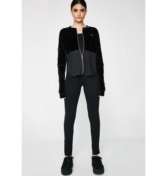 PUMA Statement Velvet Jacket