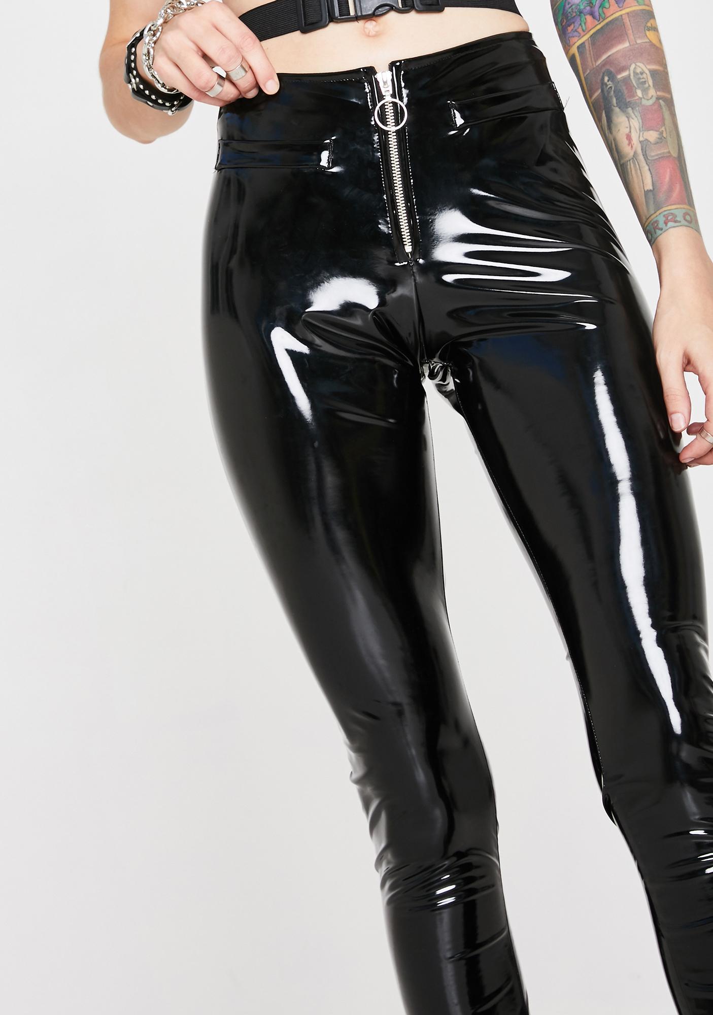 Forbidden Clothing Lose Control Zip Pants