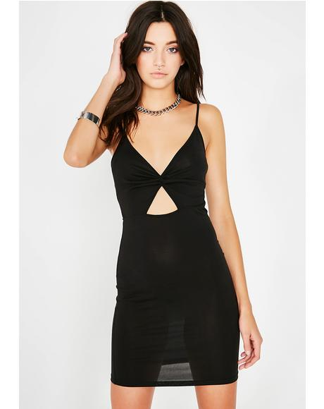 Night Untold Secrets Cut-Out Dress
