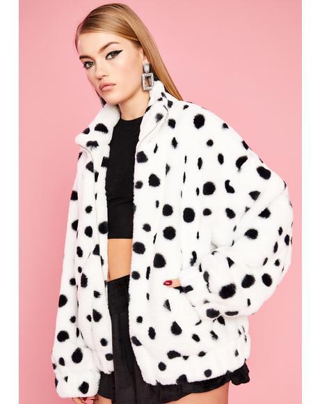 Diva De Vil Dalmatian Jacket