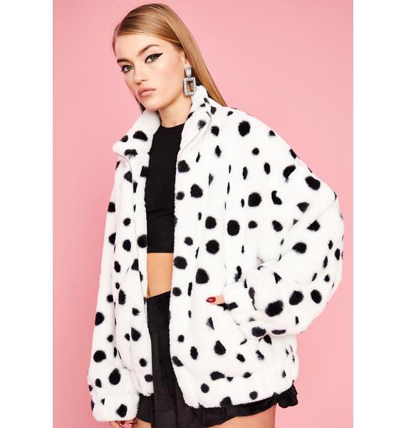Sugar Thrillz Diva De Vil Dalmatian Jacket