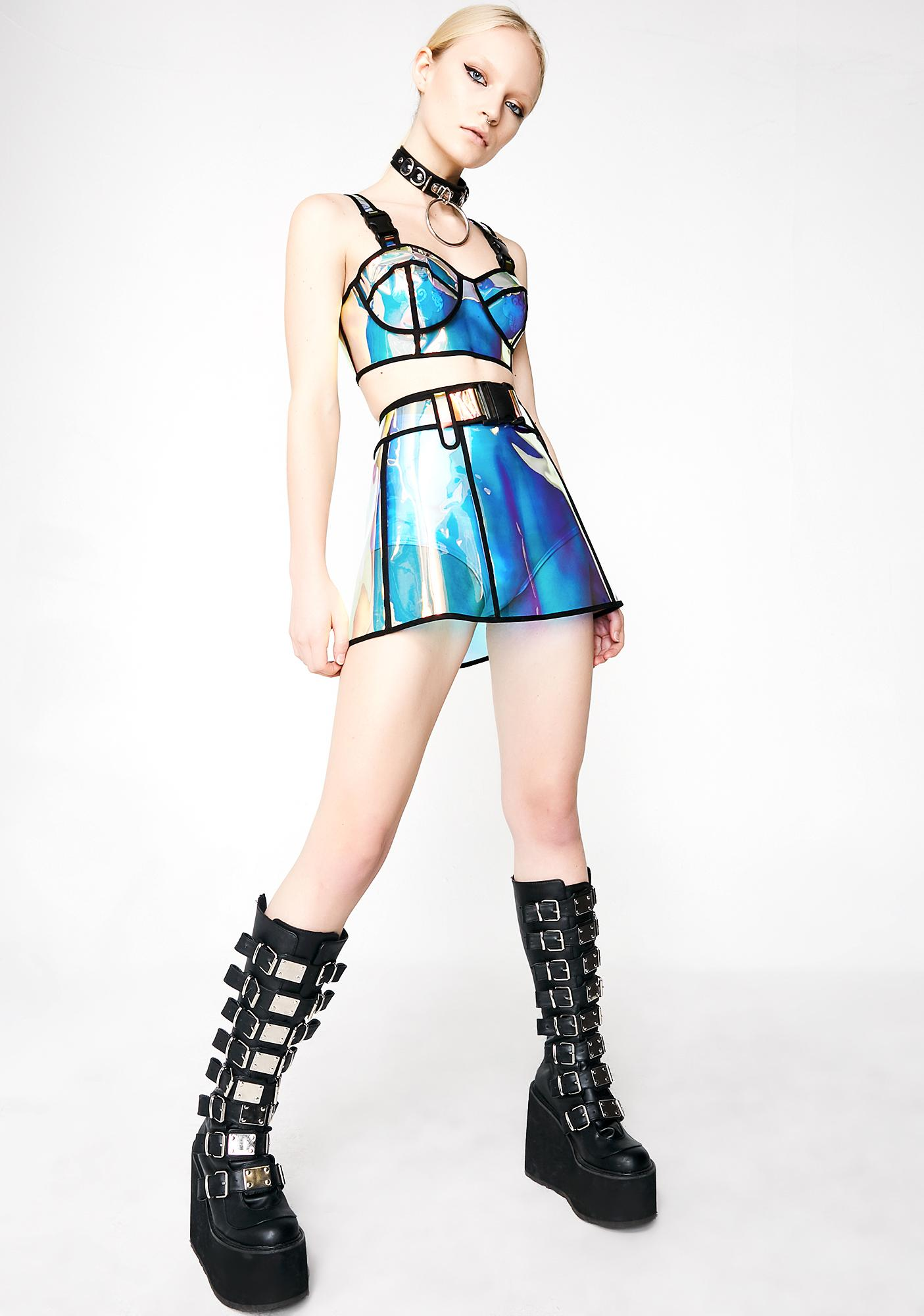 Club Exx Bubblegum Magic Skirt