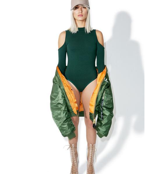 Glamorous Say That Cutout Bodysuit
