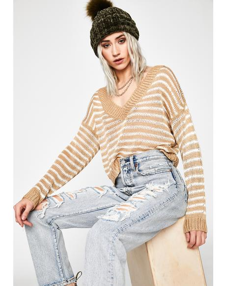 Sell Out Cropped Sweater
