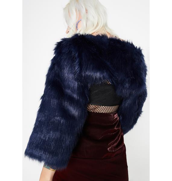 Sapphire Believe In Magic Fuzzy Shrug