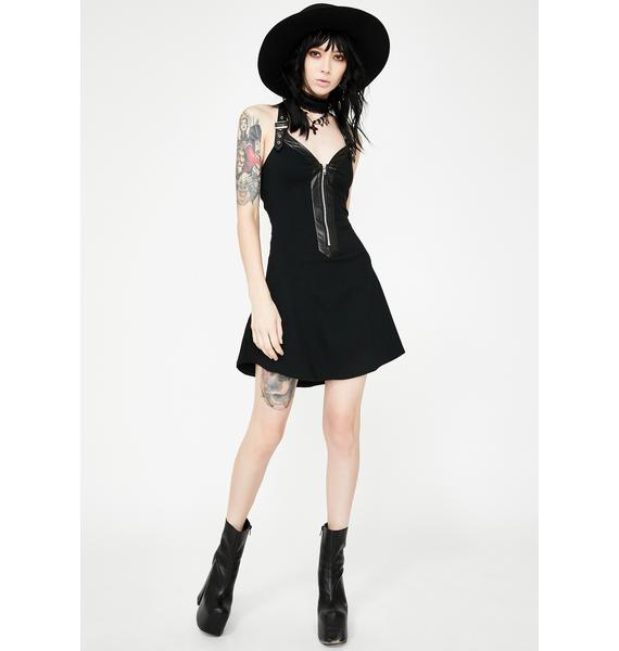 Necessary Evil Kali Skater Dress