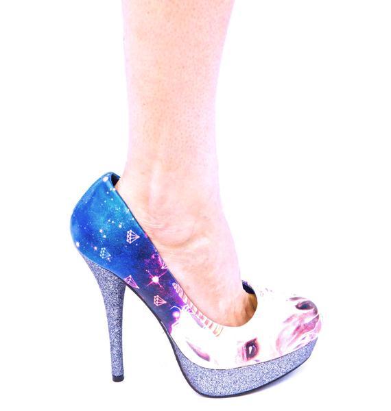 Iron Fist Unicornicopia Platform Heels