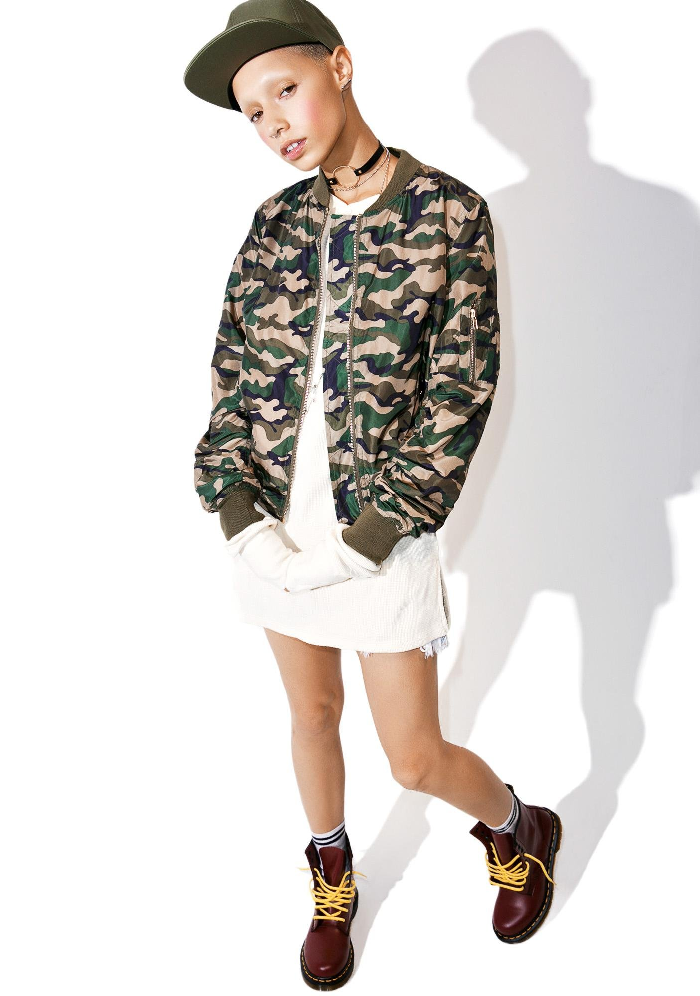 Concrete Jungle Camo Jacket