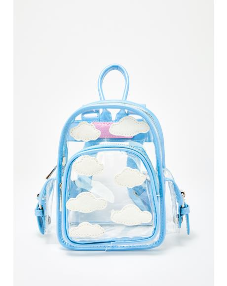 Dreamcaster Clear Backpack