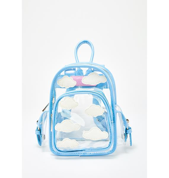 Sugar Thrillz Dreamcaster Clear Backpack