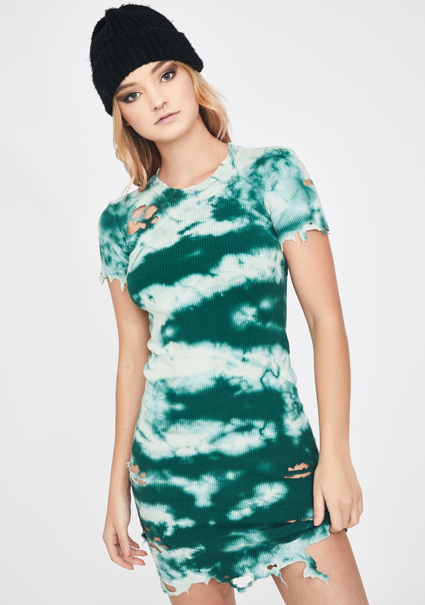 Kiki Riki Euphoric Envy Tie Dye Dress