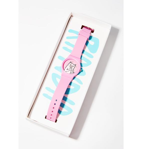 RIPNDIP Pink Lord Nermal Watch