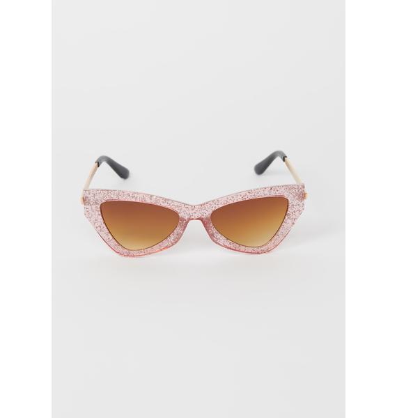 Vegas Baby Cat Eye Sunglasses