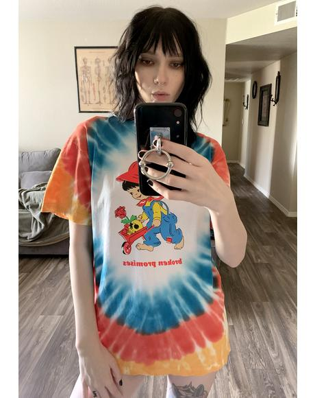 Garden Boy Tie Dye Graphic Tee